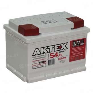 Аккумулятор AKTEX (54 Ah) 470 A, 12 V Обратная, R+ 0
