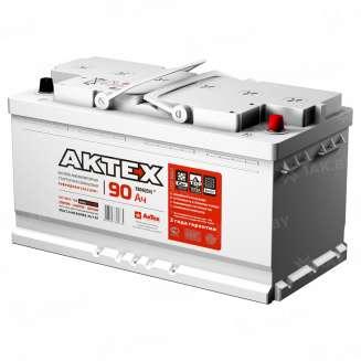 Аккумулятор AKTEX (90 Ah) 780 A, 12 V Обратная, R+ 0