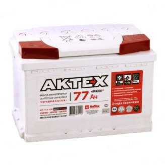 Аккумулятор AKTEX (77 Ah) 680 A, 12 V Обратная, R+ 0