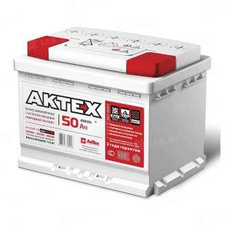 Аккумулятор AKTEX (50 Ah) 450 A, 12 V Прямая, L+ 0