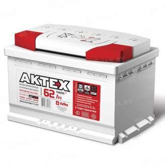 Аккумулятор AKTEX (62 Ah) 550 A, 12 V Прямая, L+ 0