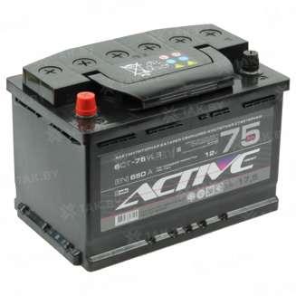Аккумулятор AKTEX (75 Ah) 650 A, 12 V Прямая, L+ 0