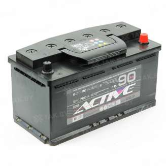 Аккумулятор AKTEX (90 Ah) 750 A, 12 V Обратная, R+ 0