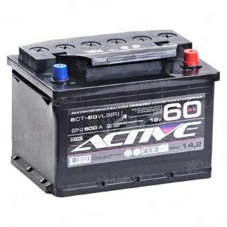 Аккумулятор AKTEX (60 Ah) 500 A, 12 V Обратная, R+ 0