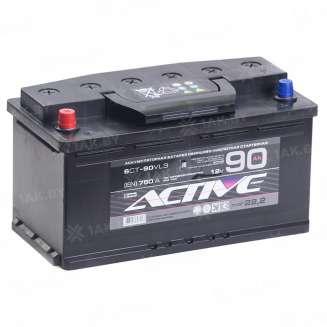 Аккумулятор AKTEX (90 Ah) 750 A, 12 V Прямая, L+ 0