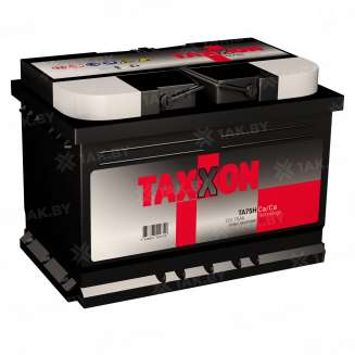 Аккумулятор TAXXON (75 Ah) 740 A, 12 V Обратная, R+ 0