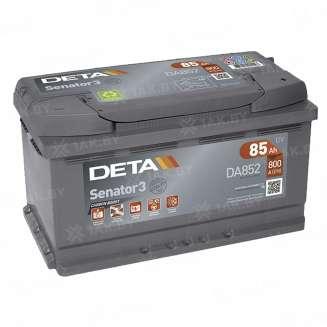 Аккумулятор DETA (85 Ah) 800 A, 12 V Обратная, R+ 0