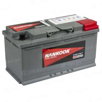 Аккумулятор HANKOOK (95 Ah) 850 A, 12 V Обратная, R+ 0