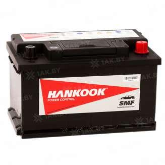 Аккумулятор HANKOOK (80 Ah) 800 A, 12 V Обратная, R+ 0