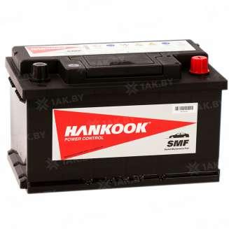 Аккумулятор HANKOOK (72 Ah) 610 А, 12 V Обратная, R+ 0