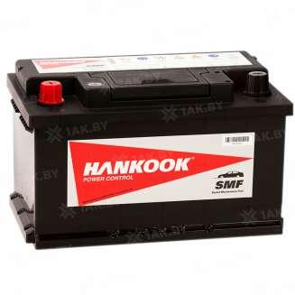 Аккумулятор HANKOOK (74 Ah) 680 A, 12 V Прямая, L+ 0