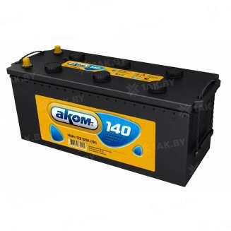 Аккумулятор АКОМ (140 Ah) 920 A, 12 V Обратная, R+ 0