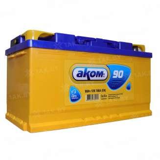 Аккумулятор АКОМ (90 Ah) 780 A, 12 V Обратная, R+ 0