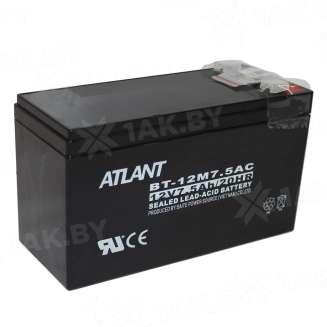 Аккумулятор ATLANT (7.5 Ah) , 12 V 0