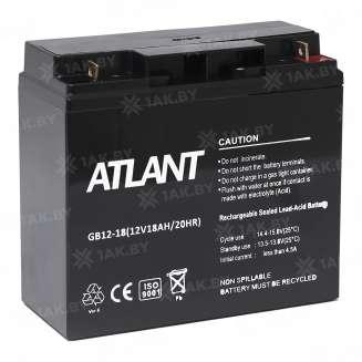Аккумулятор ATLANT (18 Ah) , 12 V 0