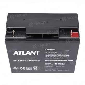 Аккумулятор ATLANT (18 Ah) , 12 V 1