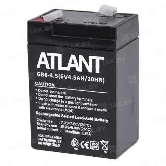 Аккумулятор ATLANT (4.5 Ah) , 6 V 1