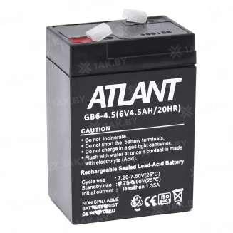 Аккумулятор ATLANT (4.5 Ah) , 6 V 2