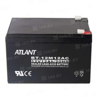 Аккумулятор ATLANT (12 Ah) , 12 V 0