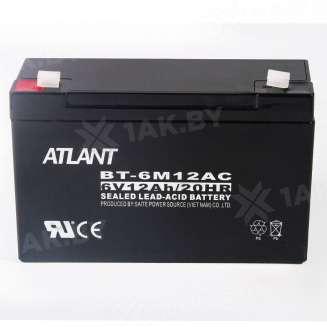 Аккумулятор ATLANT (12 Ah) , 6 V 0