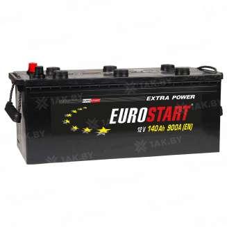 Аккумулятор EUROSTART (140 Ah) 900 A, 12 V Обратная, R+ 0