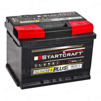 Аккумулятор STARTCRAFT (60 Ah) 540 A, 12 V Обратная, R+ 0