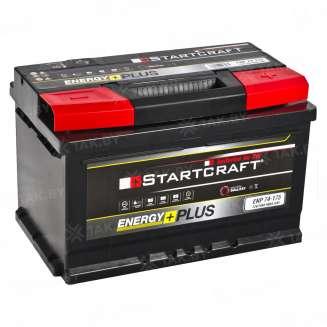 Аккумулятор STARTCRAFT (74 Ah) 680 A, 12 V Обратная, R+ 0