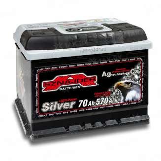 Аккумулятор SZNAJDER (70 Ah) 570 A, 12 V Обратная, R+ 0