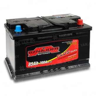 Аккумулятор SZNAJDER (85 Ah) 700 A, 12 V Обратная, R+ 0