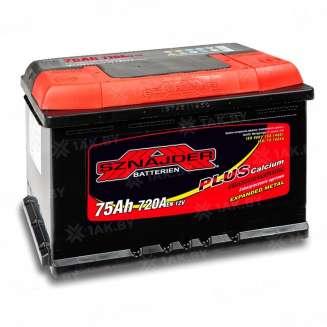 Аккумулятор SZNAJDER (75 Ah) 720 A, 12 V Обратная, R+ 0