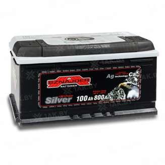 Аккумулятор SZNAJDER (100 Ah) 800 A, 12 V Обратная, R+ 0