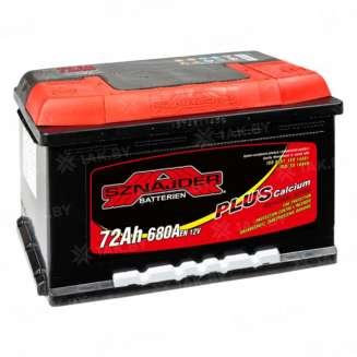 Аккумулятор SZNAJDER (72 Ah) 680 A, 12 V Обратная, R+ 0
