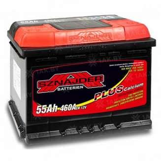 Аккумулятор SZNAJDER (55 Ah) 460 A, 12 V Обратная, R+ 0