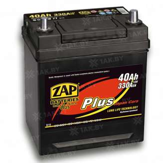 Аккумулятор ZAP (40 Ah) 330 A, 12 V Обратная, R+ 0