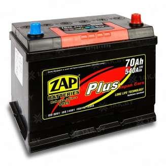Аккумулятор ZAP (70 Ah) 540 A, 12 V Обратная, R+ 0