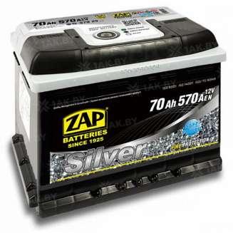 Аккумулятор ZAP (70 Ah) 570 A, 12 V Прямая, L+ 0