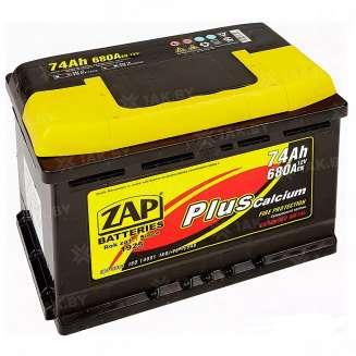 Аккумулятор ZAP (74 Ah) 680 A, 12 V Обратная, R+ 0