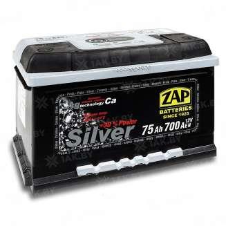 Аккумулятор ZAP (75 Ah) 700 A, 12 V Обратная, R+ 0