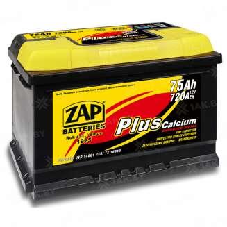 Аккумулятор ZAP (75 Ah) 720 A, 12 V Прямая, L+ 0