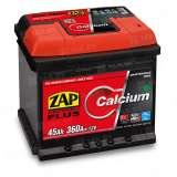 Аккумулятор ZAP (45 Ah) 360 A, 12 V Обратная, R+