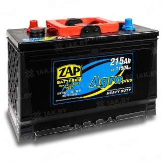 Аккумулятор ZAP (215 Ah) 1150 A, 6 V Обратная, R+ 0