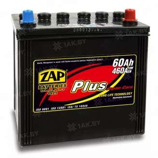 Аккумулятор ZAP (60 Ah) 460 A, 12 V Обратная, R+ 0