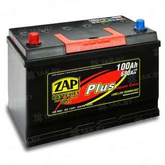Аккумулятор ZAP (100 Ah) 680 A, 12 V Прямая, L+ 0