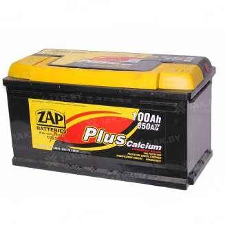 Аккумулятор ZAP (100 Ah) 760 A, 12 V Обратная, R+ 0