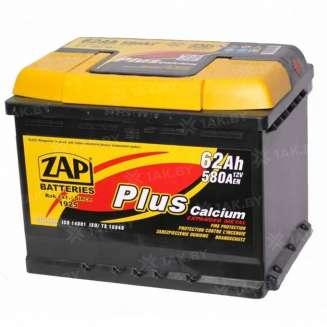 Аккумулятор ZAP (62 Ah) 580 А, 12 V Прямая, L+ 0