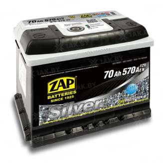 Аккумулятор ZAP (70 Ah) 570 A, 12 V Обратная, R+ 0