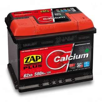 Аккумулятор ZAP (62 Ah) 520 A, 12 V Прямая, L+ 0