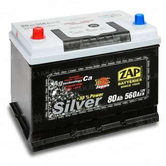 Аккумулятор ZAP (80 Ah) 560 A, 12 V Прямая, L+ 0
