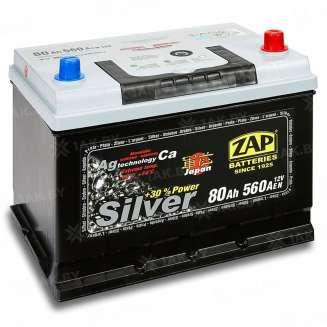 Аккумулятор ZAP (80 Ah) 560 A, 12 V Обратная, R+ 0