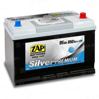 Аккумулятор ZAP (95 Ah) 760 A, 12 V Обратная, R+ 0